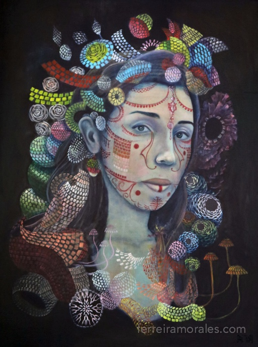 Pamela | Rafael Ferreira Morales art, In Stock, Works