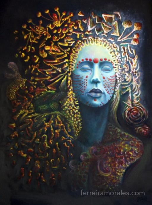 Vidriana | Rafael Ferreira Morales art, In Stock, Works