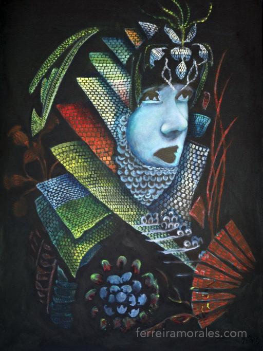 Samurai | Rafael Ferreira Morales art, In Stock, Works